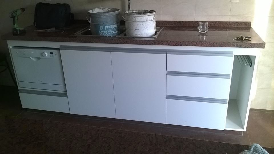 Muebles Aereos De Cocina A Medida - $ 350,00 en Mercado Libre