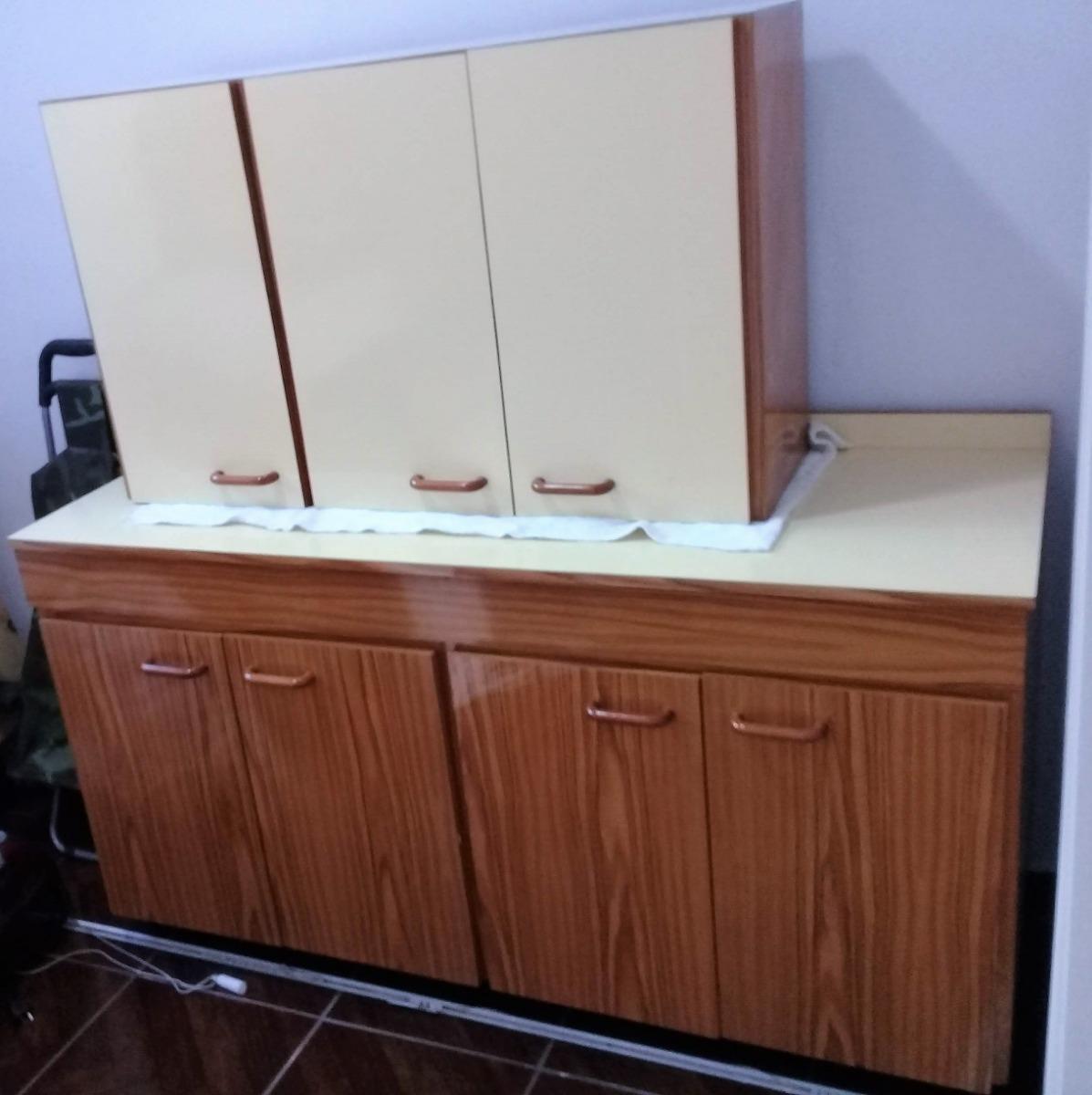 Muebles Alacena De Cocina Bajo Y Colgante. Muy Buen Estado! - $ 8.900,00