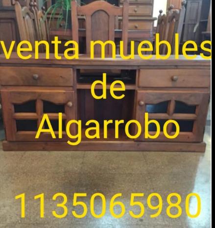 muebles algarrobo