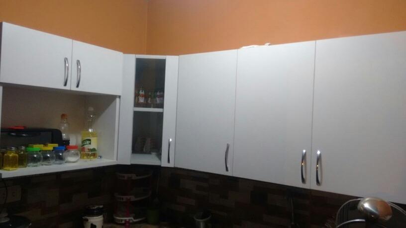 Muebles Altos De Cocina Blancos