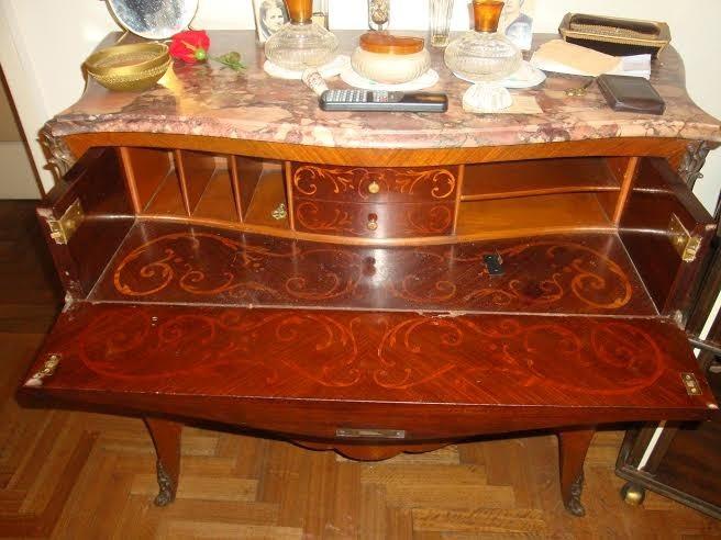 Muebles~ Antiguos Comedor 12 Personas Sillones Chifoinier Et ...