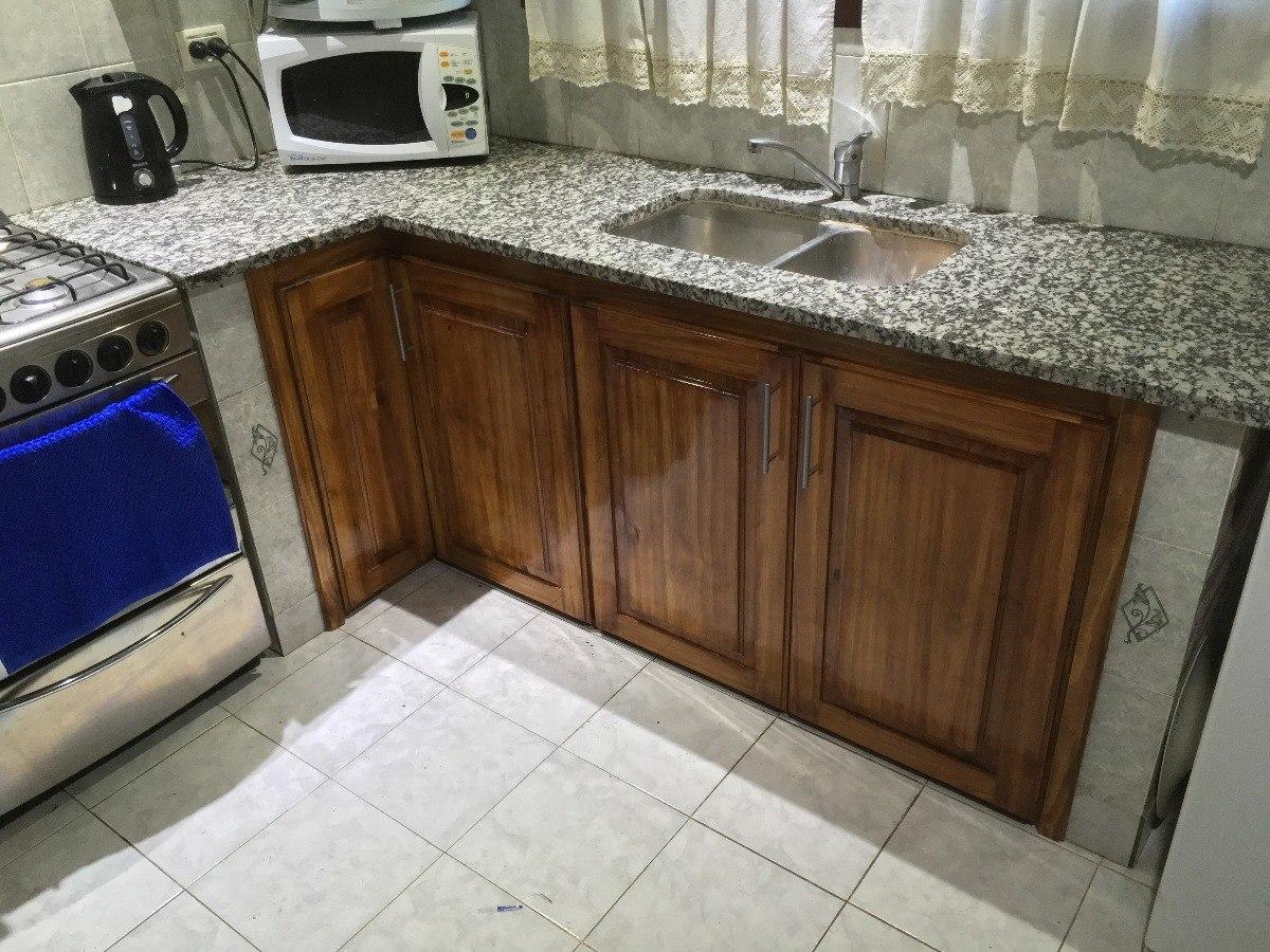 Muebles A Medida Cocina Bajo Mesada Madera Pino Plastificado