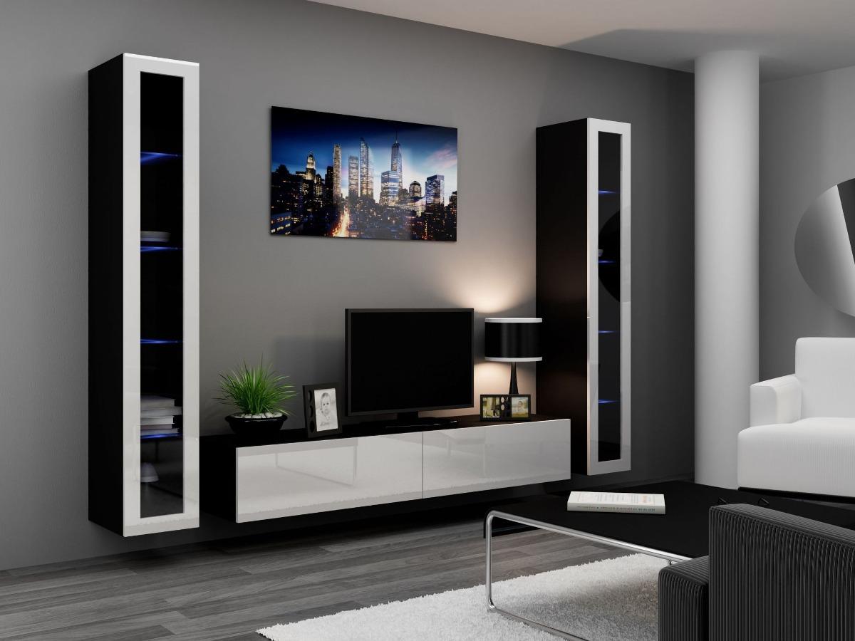 Muebles centro entretenimiento oferta envio y armado for Muebles modulares modernos para sala
