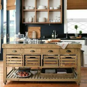 Muebles De Madera Rusticos Desayunador - Todo para Cocina en Mercado ...