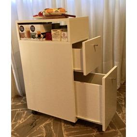 Mueble Auxiliar De Cocina Con Ruedas en Mercado Libre Argentina