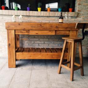 Muebles Rusticos Para Cocina Madera - Muebles de Cocina en Mercado ...