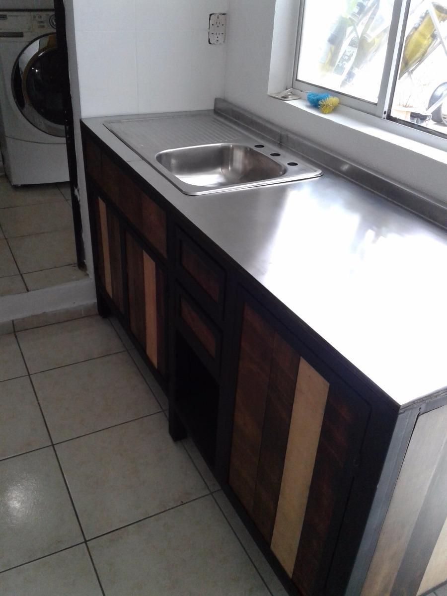 Muebles cocina a la medida madera metal inoxidable en mercado libre - Muebles de cocina en navarra ...