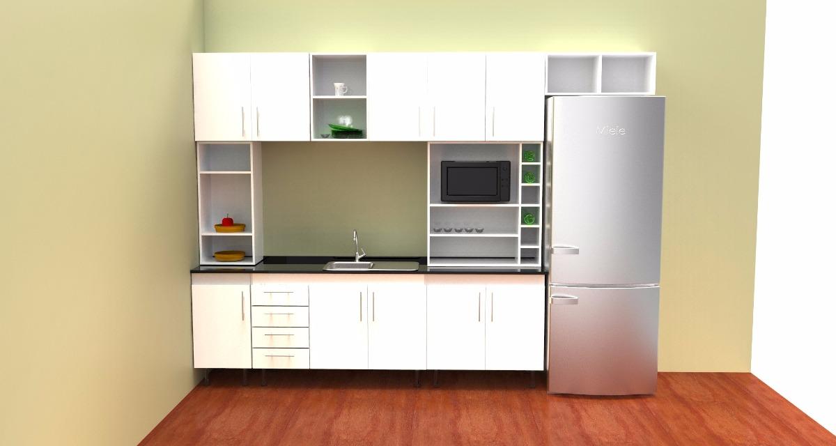 Muebles de cocina muebles de cocina en postformado with for Cambiar puertas muebles cocina