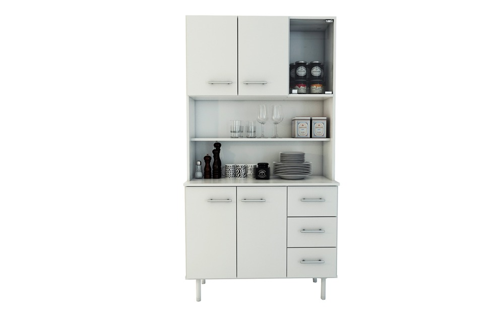 Muebles Cocina Bajo Mesada Alacena Triplo Kit Multiuso - $ 3.670,00 ...