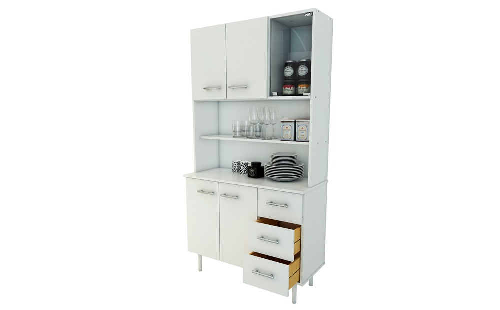 Muebles Cocina Bajo Mesada Triplo Kit Multiuso Liquidacion - $ 1.995 ...