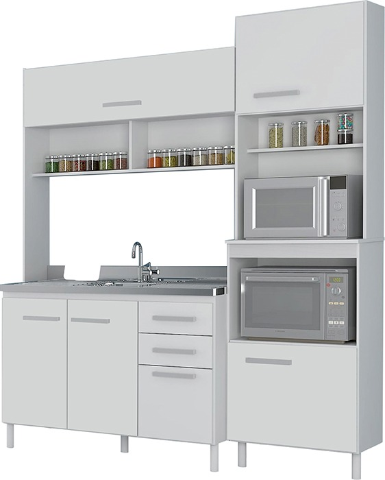 Muebles cocina compacta kit cocina aereo divino en mercado libre - Muebles de cocina en kit ...