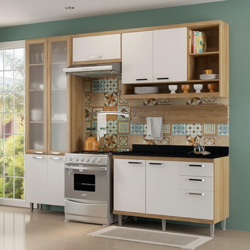 Muebles Cocina Completa Alacena Repisa Armario Bajo Mesada ...