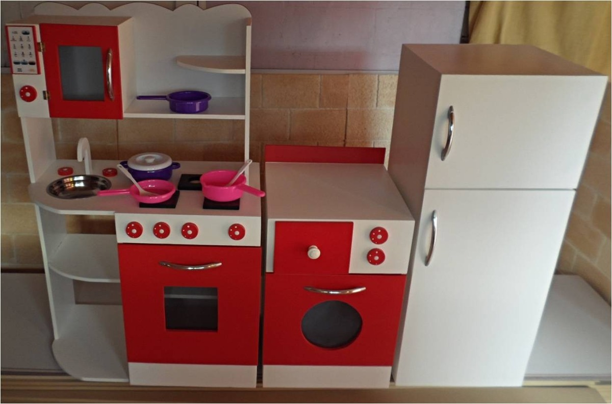 Muebles Cocina Infantil Rincon De Juego Casita Infantil - $ 7.500,00 ...