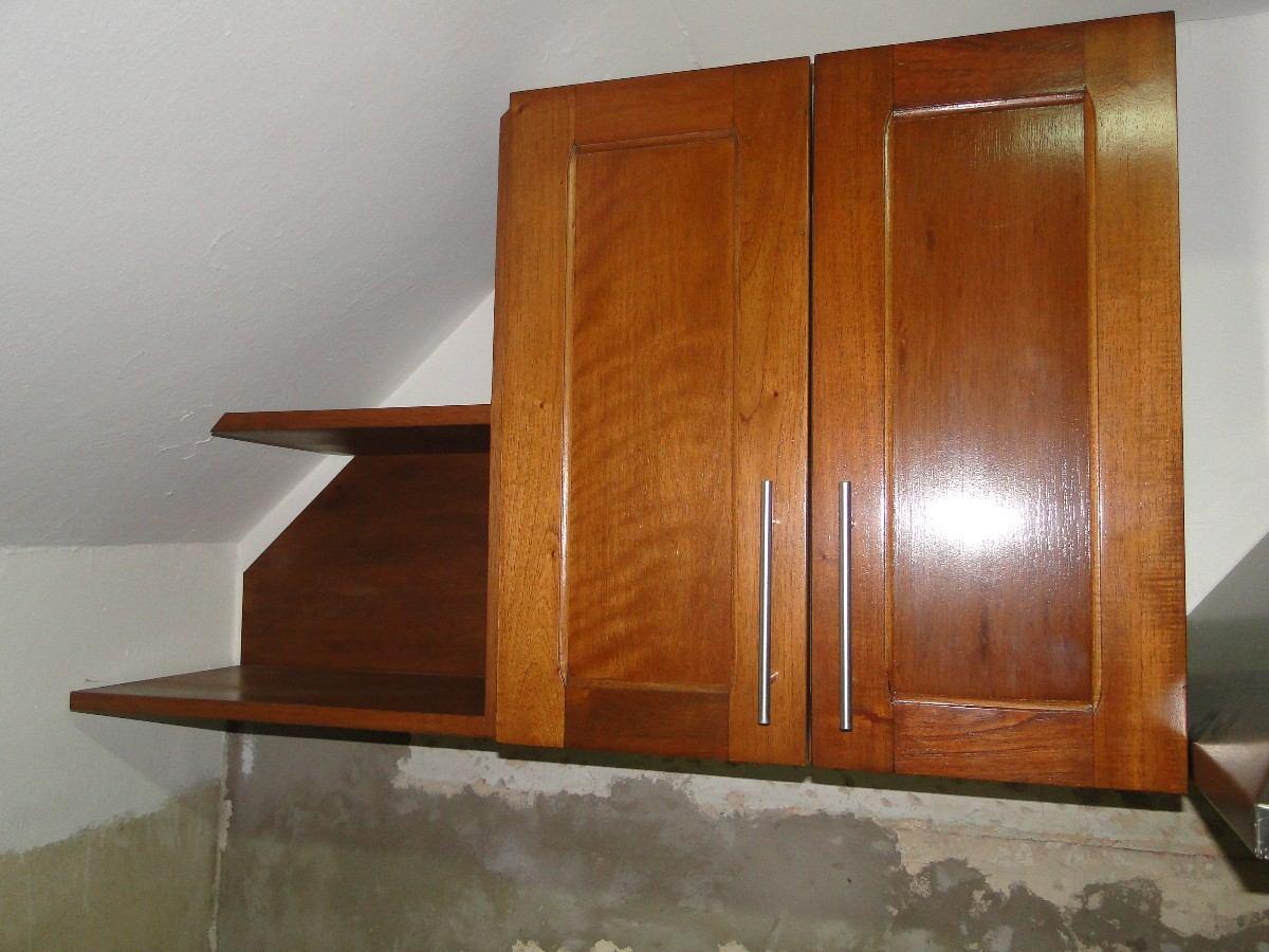 muebles cocina madera