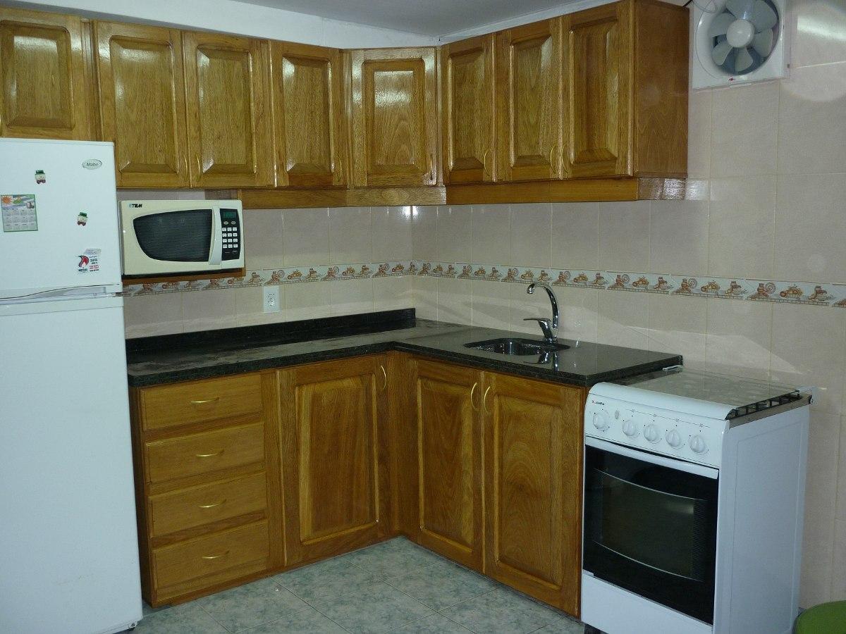 Fabricacion muebles de cocina aereos bajos granitos Muebles de cocina para microondas