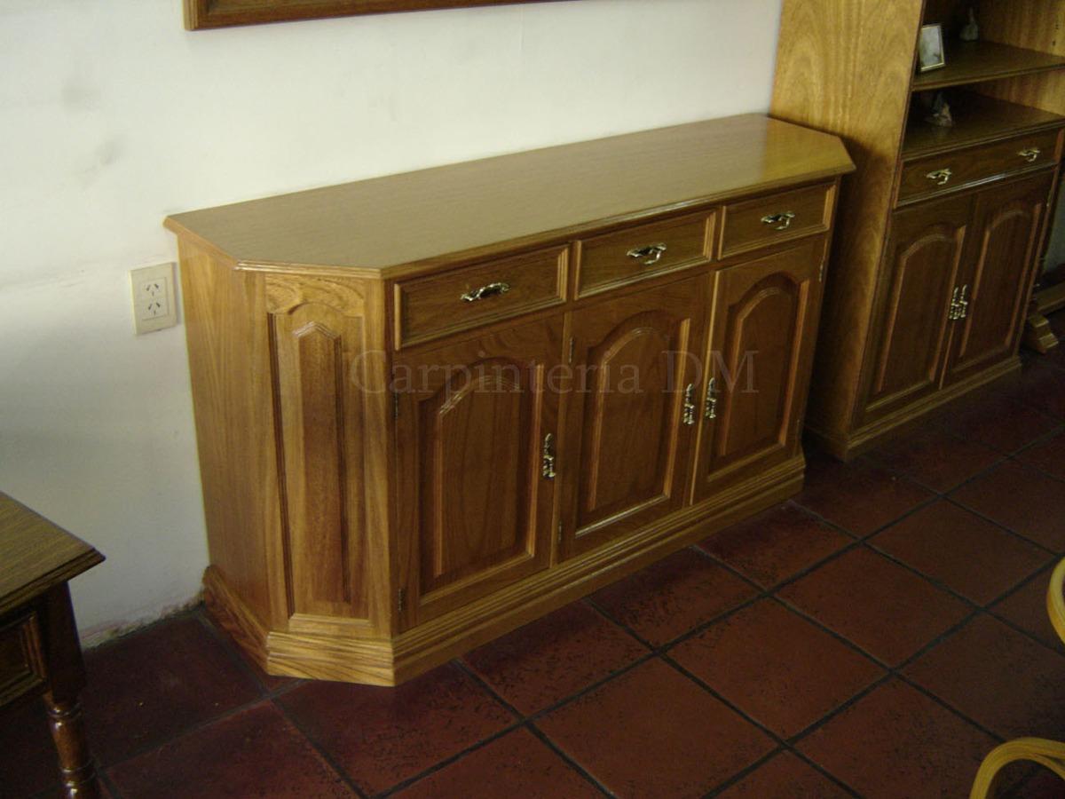 Muebles Para Living Comedor Vajillero Roble - $ 27.270,00 en Mercado ...