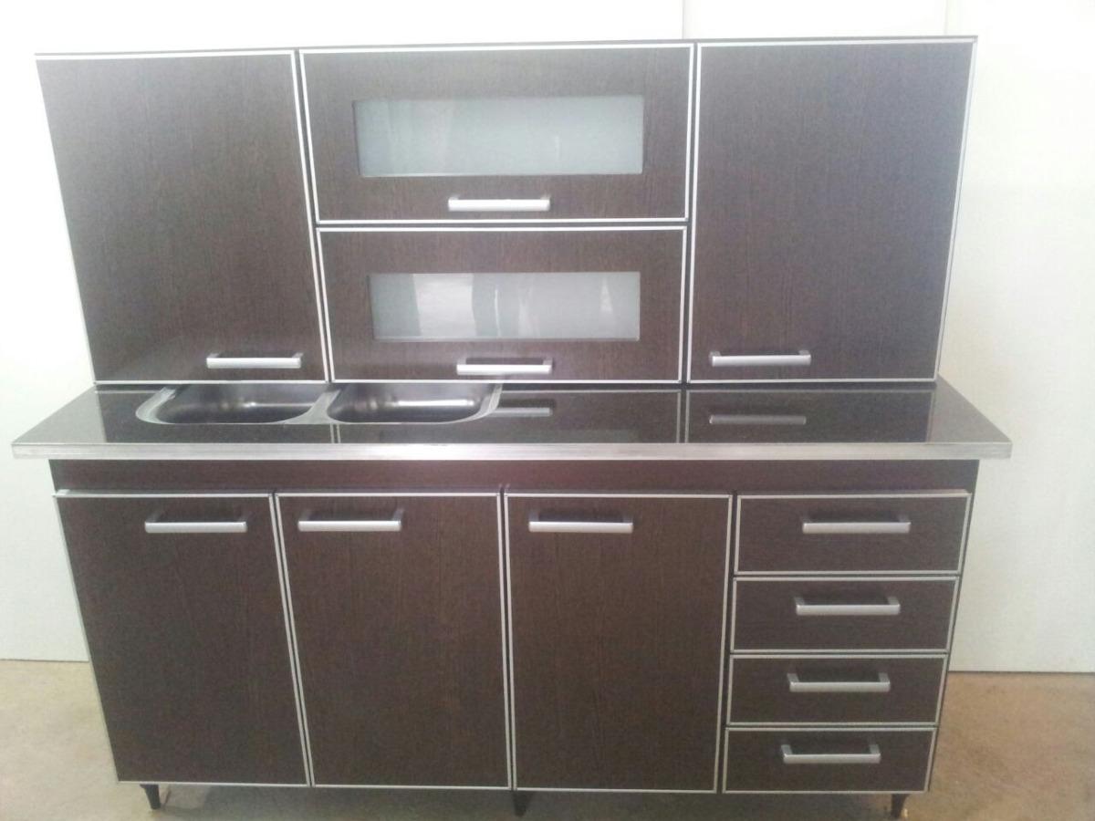 Muebles Completos De Cocina 1,60m - $ 10.950,00 en Mercado Libre