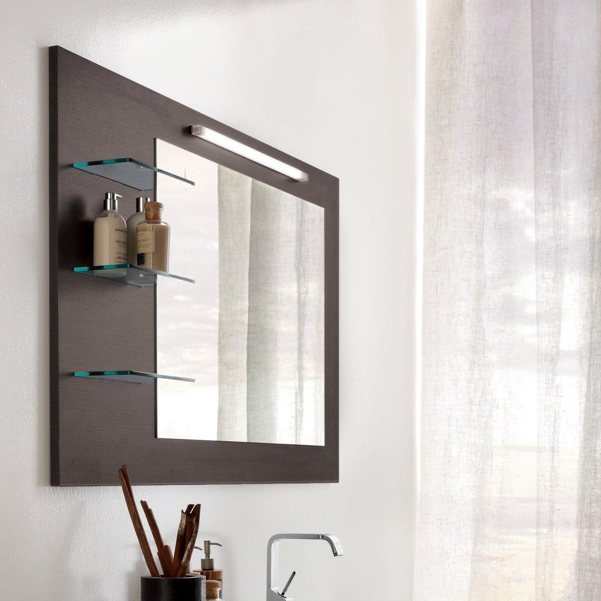 interesting perfect cargando zoom with espejos de bao con luz incorporada with marcos para espejos de bao - Espejos Baos