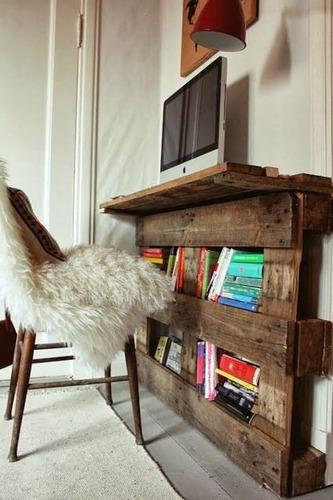 muebles con palets reciclados !!!