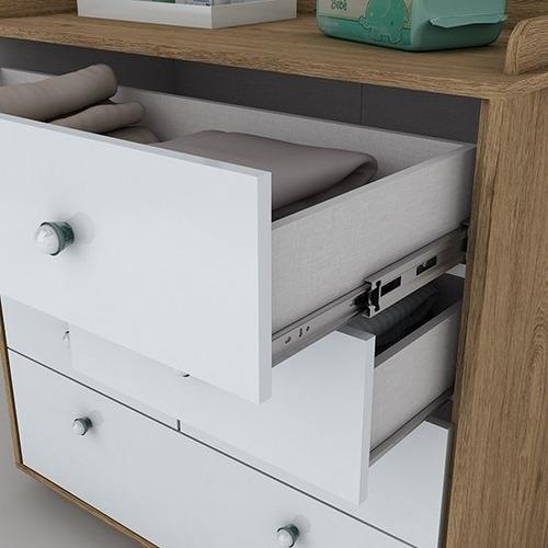 Muebles Cuna 3 En 1 Comoda Ropero Dormitorio Mobelstore - $ 15.990 ...