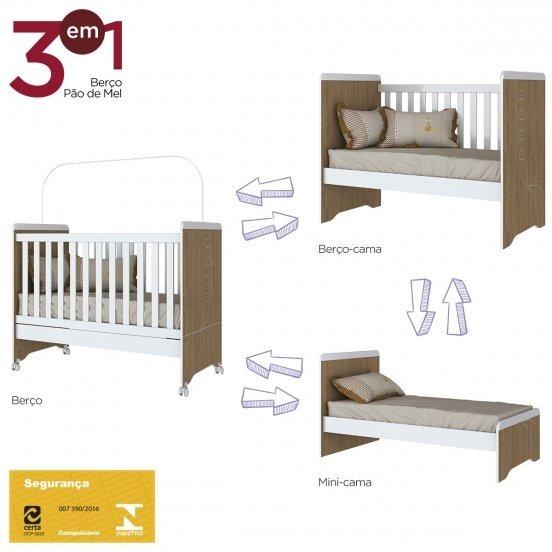 Muebles Cuna Multifuncion 3 En 1 Mdf Oferta Mobesltore - $ 5.200,00 ...