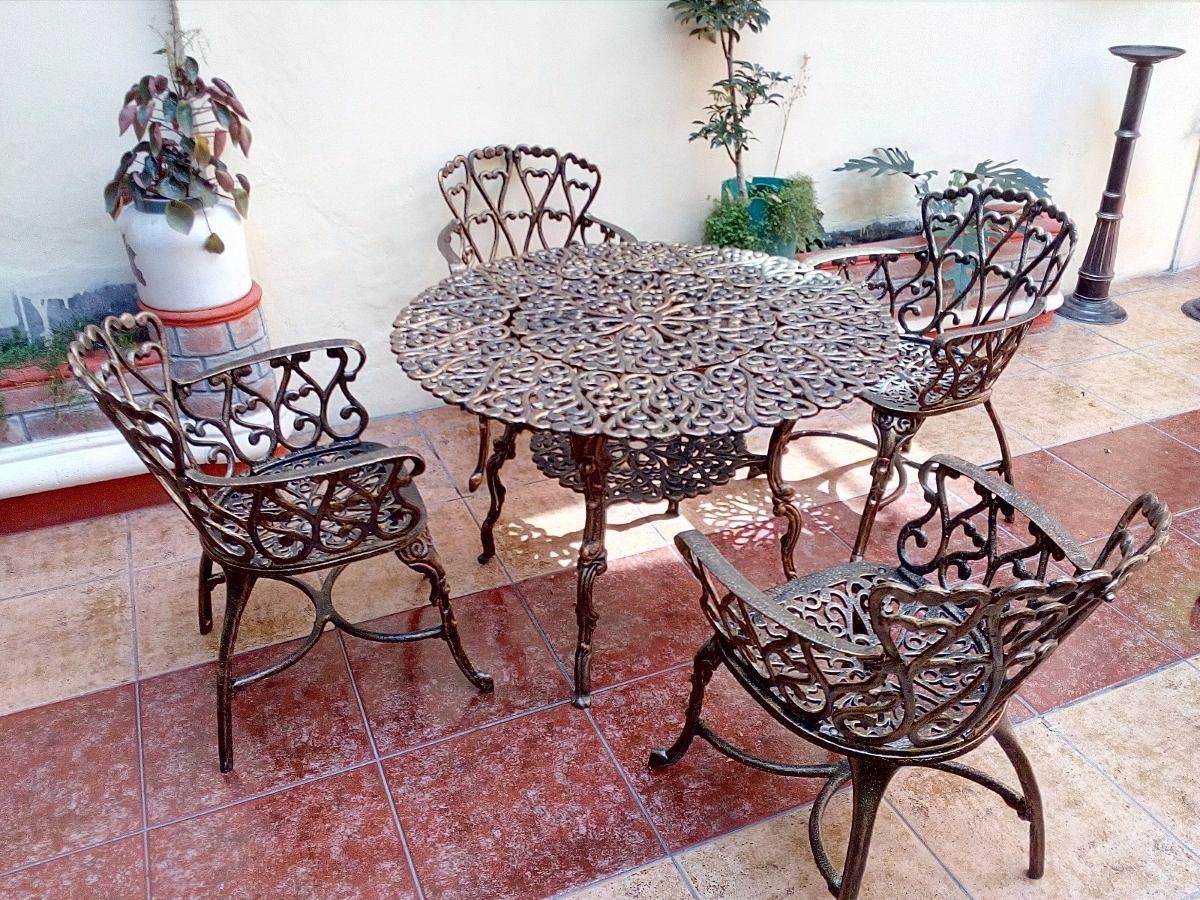 Muebles De Aluminio Fundido Para Exteriores Jardines Terraza