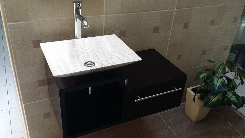 Muebles de ba o economicos lavabo de marmol moderno - Lavabos de marmol para bano ...
