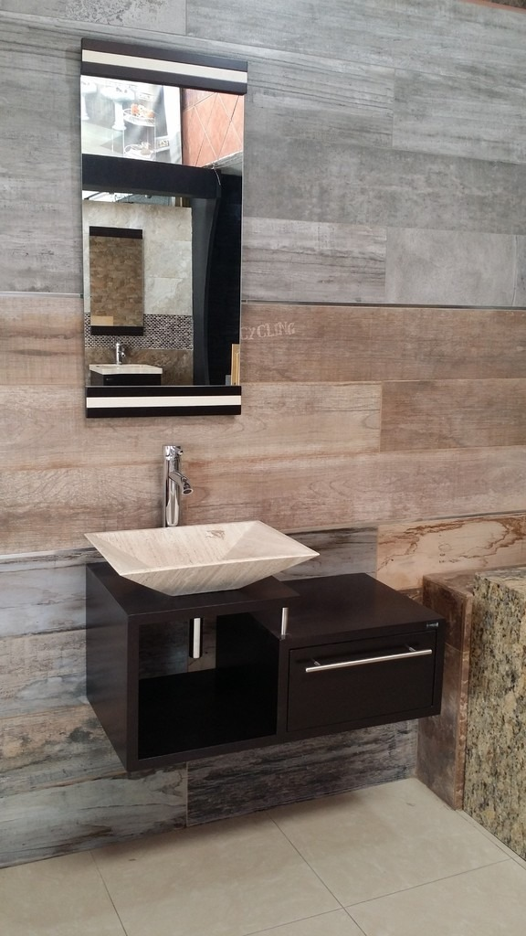 Muebles de ba o economicos lavabo de marmol moderno for Mueble lavabo moderno