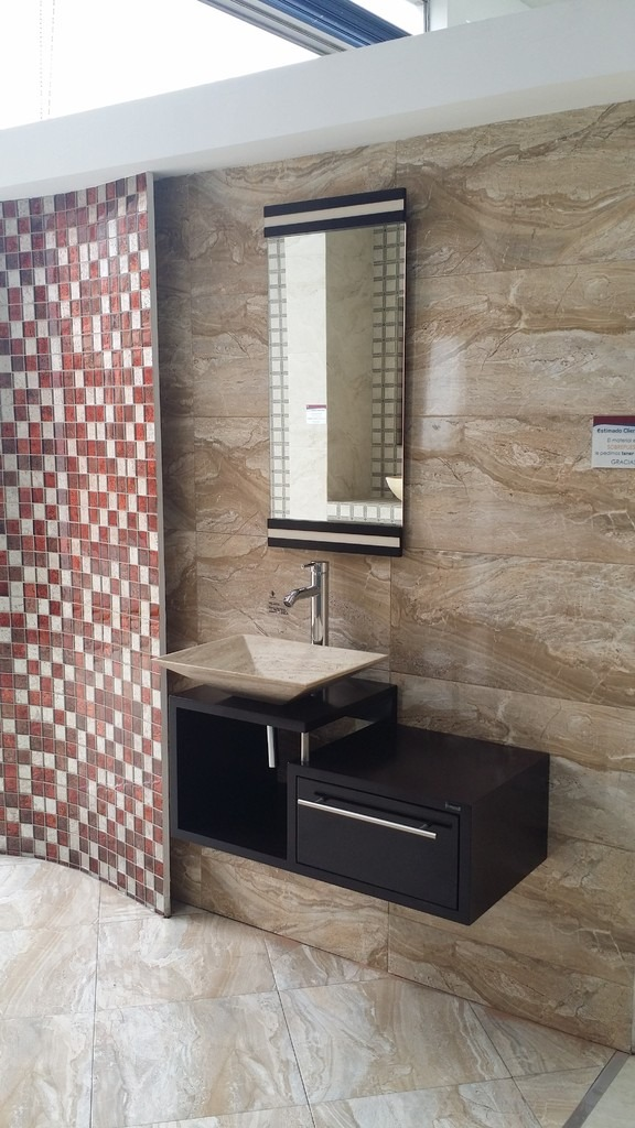 Muebles de ba o economicos lavabo de marmol moderno - Lavabos con muebles ...
