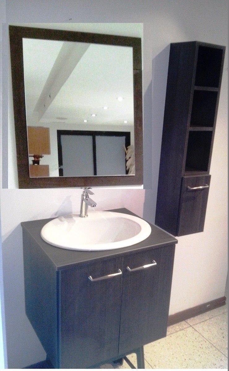 Muebles de ba o modernos con lavamanos y griferia incluida for Griferia para bano y cocina
