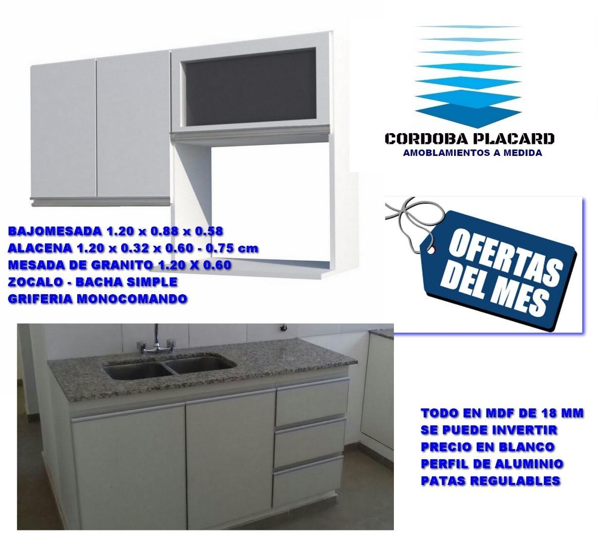 Muebles De Cocina A Medida - Bajomesada - Alacena - Mesada ...