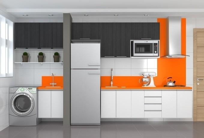 Muebles de cocina a medida entrega inmediata dise o 3d for Muebles de esquina para cocina