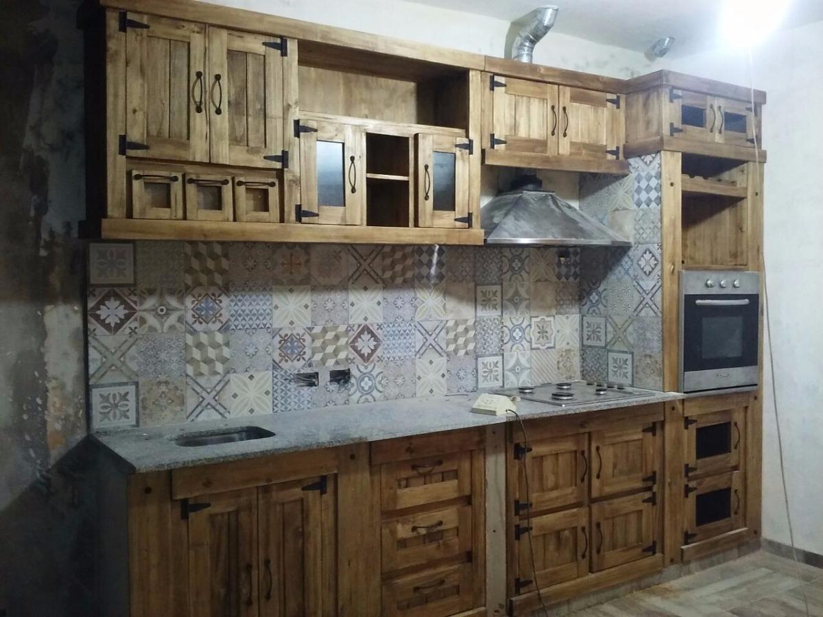 Muebles De Cocina A Medida Estilo Campo En Alamo - $ 4.400,00 en ...