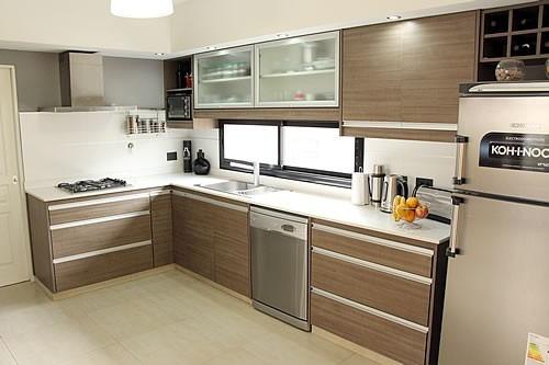 Muebles de cocina muebles de cocina en postformado with for Muebles bajos de cocina baratos