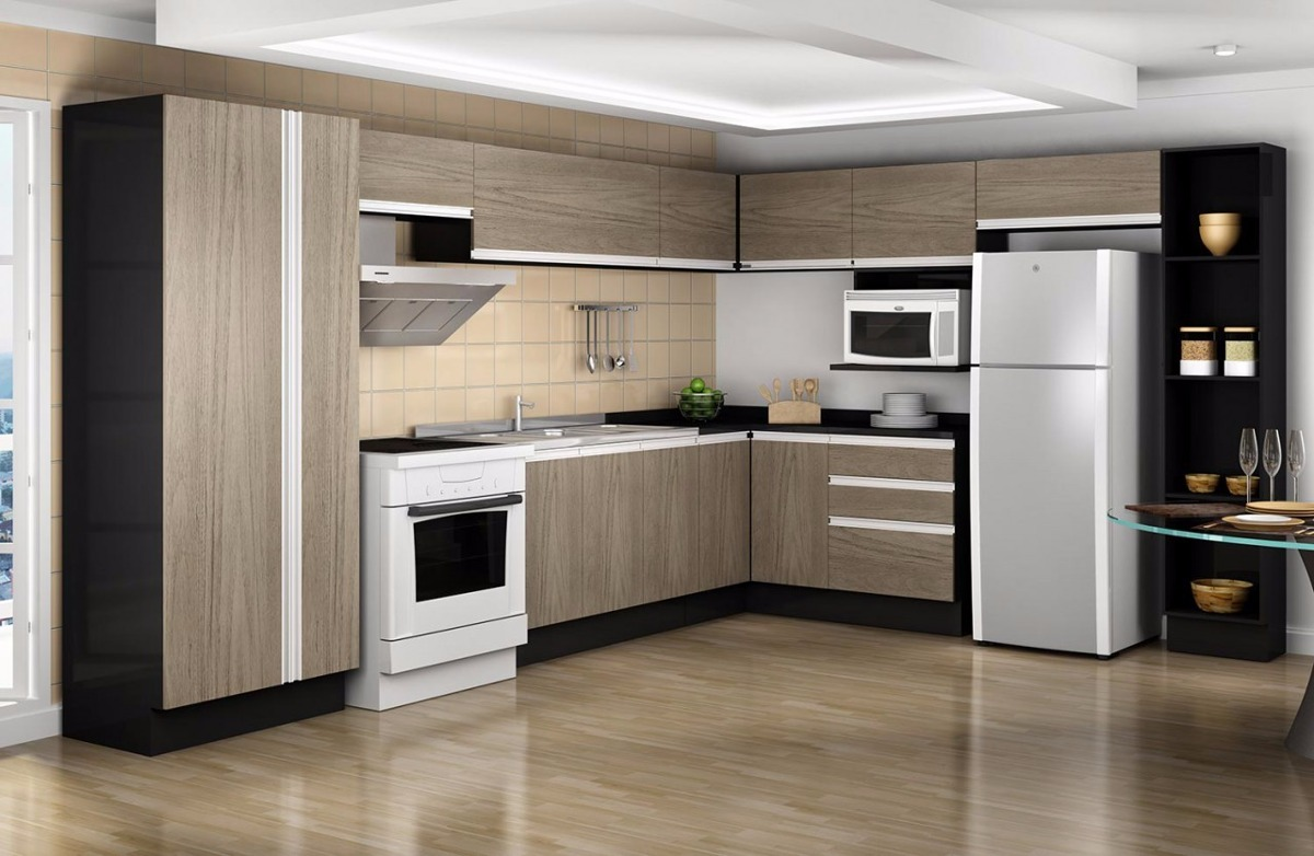 Muebles De Cocina Alacena Bajo Mesada Amoblamiento 1 20