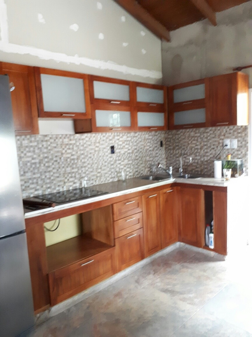 Muebles De Cocina Alacena Y Bajo Mesada Madera Paraiso - $ 58,19 en ...