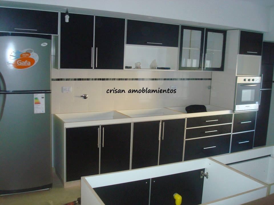 Muebles De Cocina, Bajo Mesada Con Cantos De Aluminio - $ 2.799,99 ...
