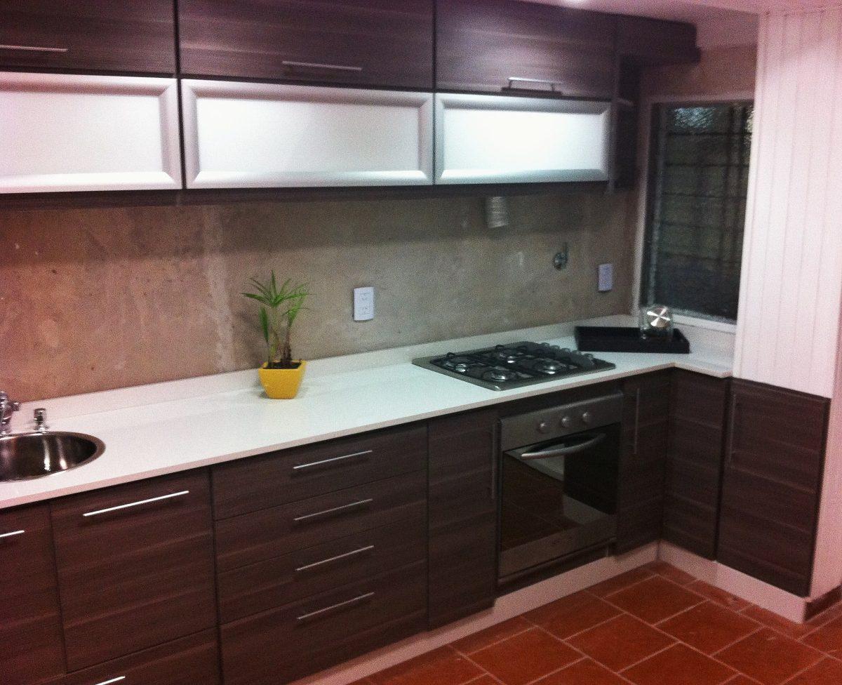Cocina muebles de cocina de melamina galer a de fotos for Muebles cocina melamina
