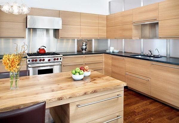 Muebles de cocina bajo mesada y alacena en melamina - Muebles alacenas para cocina ...