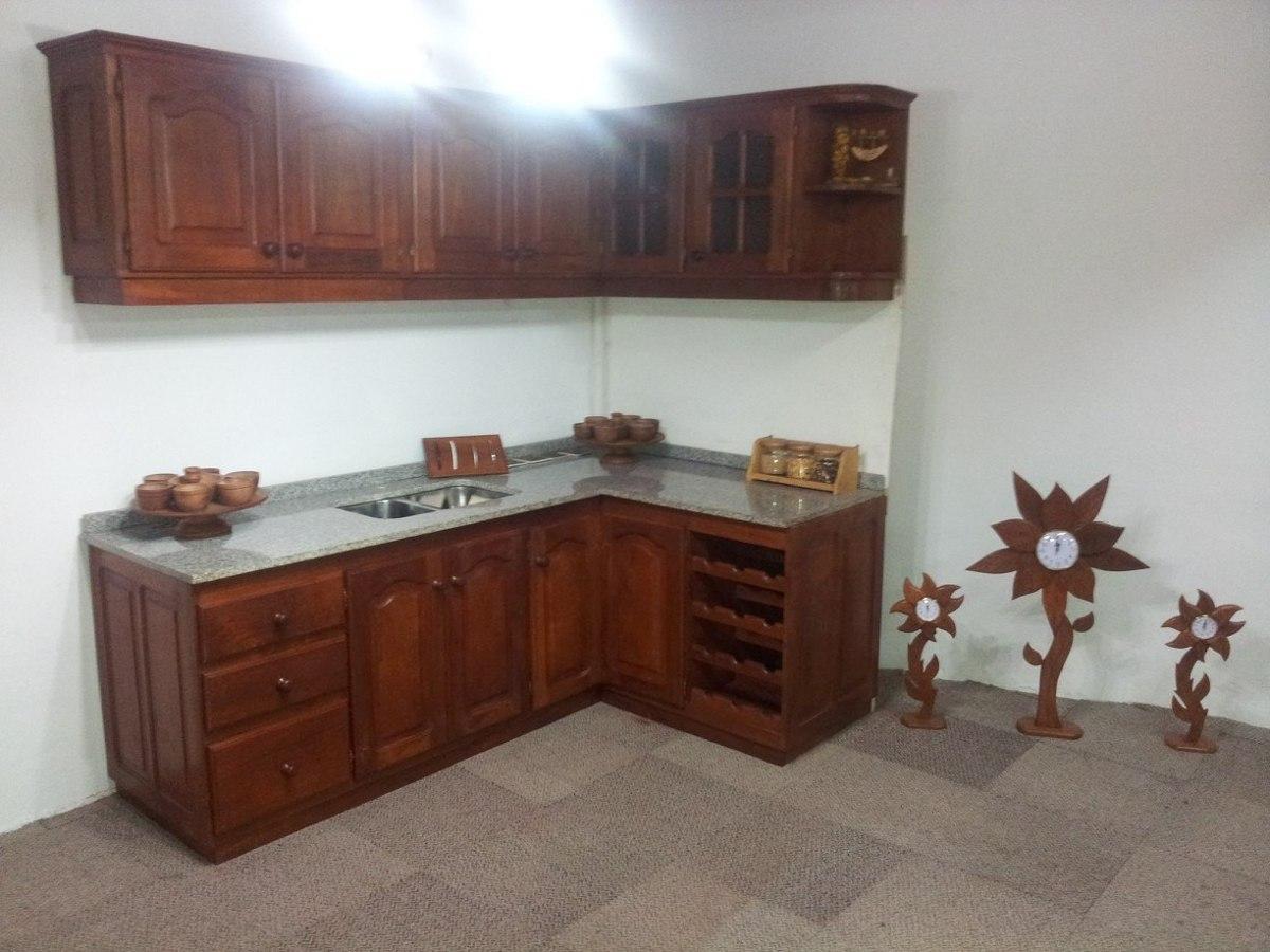 Muebles De Cocina Algarrobo Rosario