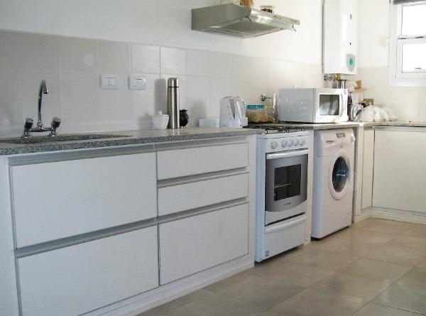 Muebles De Cocina Blanco Bajo Y Alacena 1metro Lineal Lionel ...