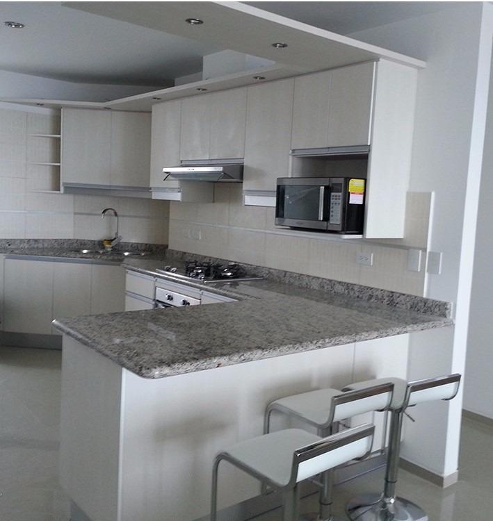 Muebles de cocina closet ba os puertas mesones de granito for Medidas de mesones para cocina
