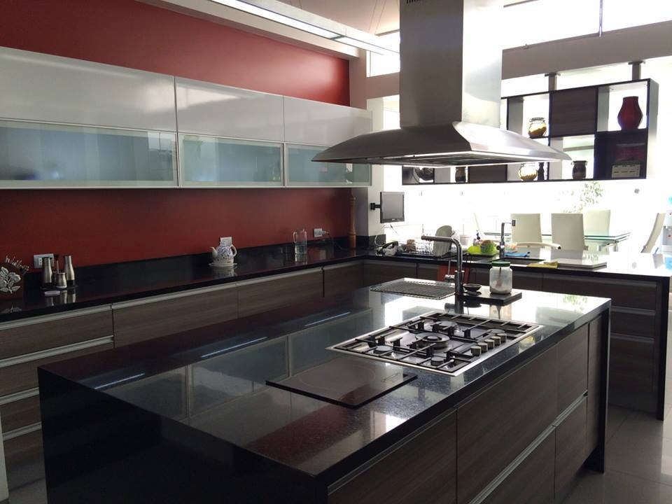 Muebles de cocina closet ba os puertas mesones de granito for Muebles de cocina 2 metros