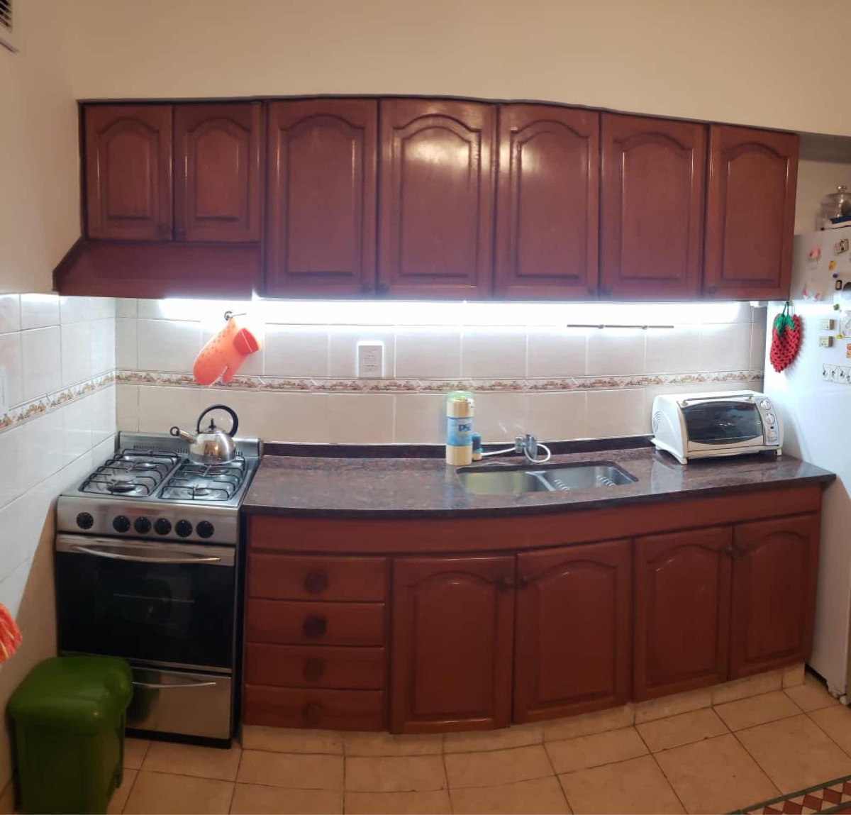 Muebles De Cocina Completo Madera Maciza - $ 1,00 en Mercado Libre