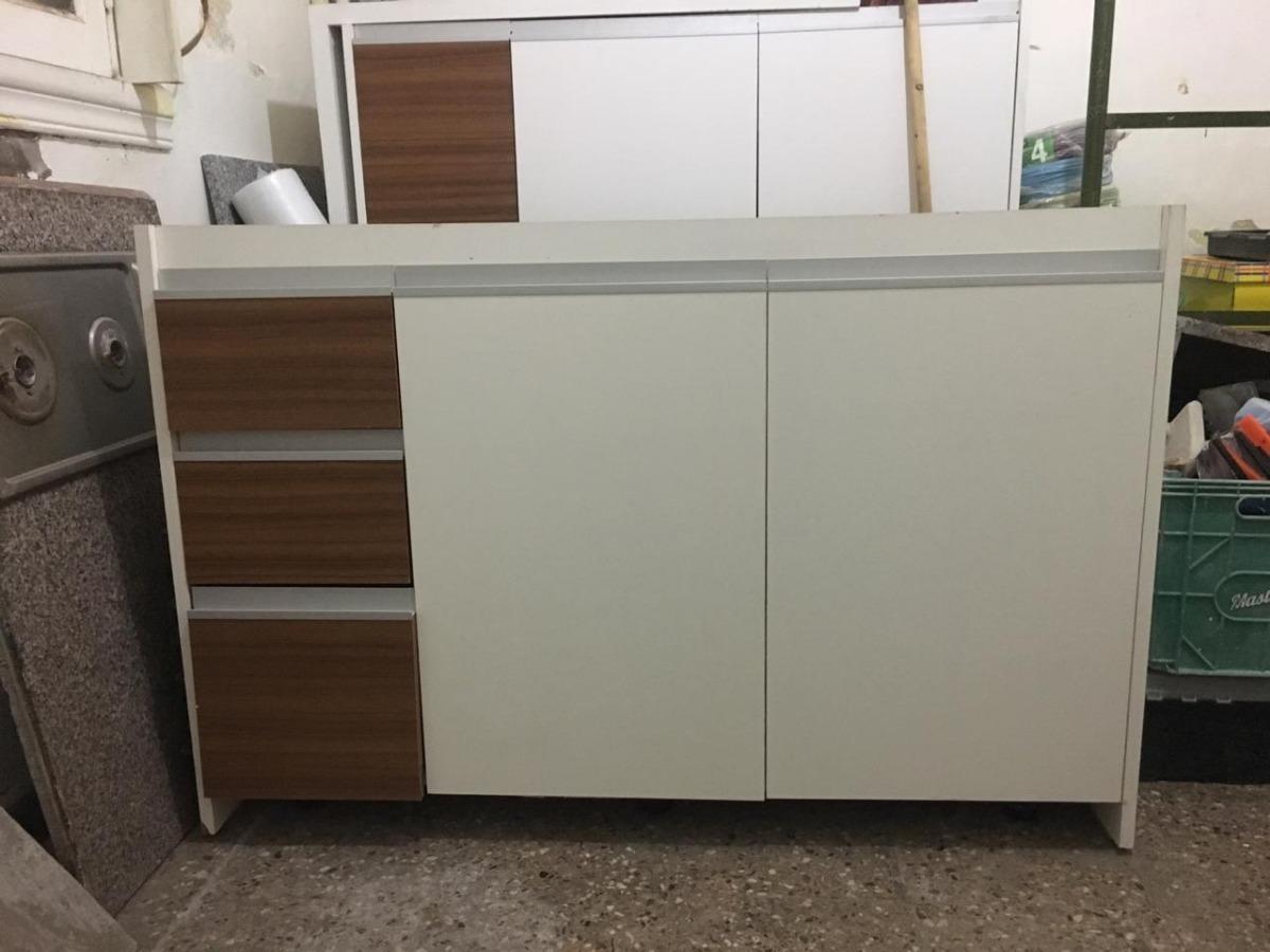 Muebles De Cocina Completos Con Mesada, Bacha Y Grifería Fv ...