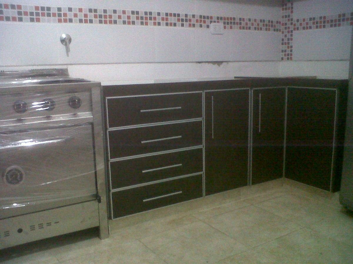 Muebles De Cocina De Melamina A Medida - $ 4.000,00 en Mercado Libre