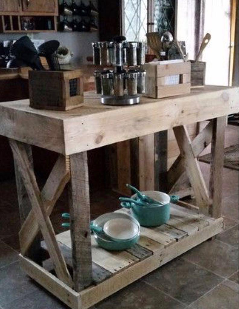 Muebles de cocina de palet estanterias en mercado libre - Estanterias de palet ...
