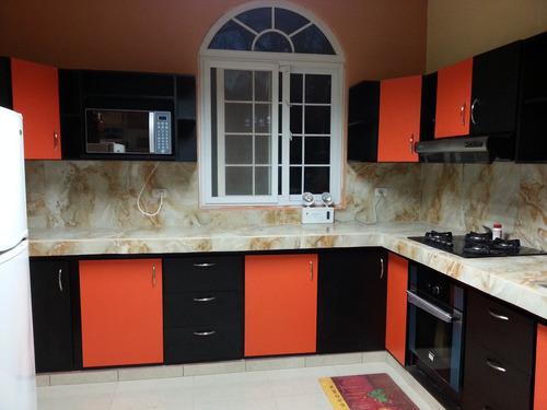 muebles de cocina desde 69mil el metro lineal.