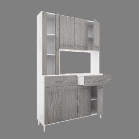 muebles de cocina kit cocina 1.20  larice 530 orlandi
