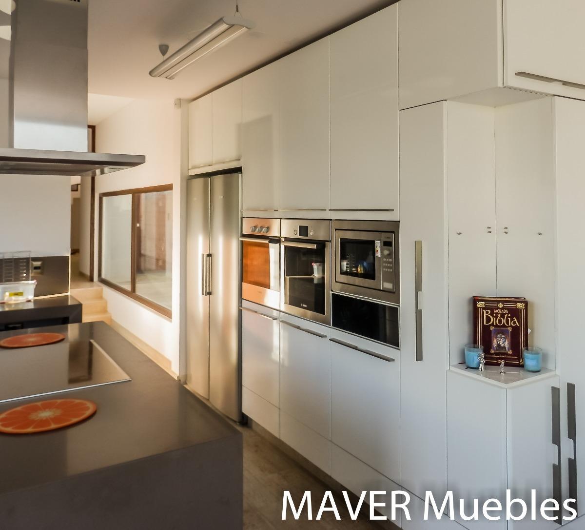 Muebles De Cocina Minimalista, Modernos Diseños A Medida - $ 1 en ...
